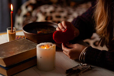 attraction love spell using a picture