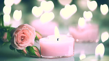 simple pink candle love spell