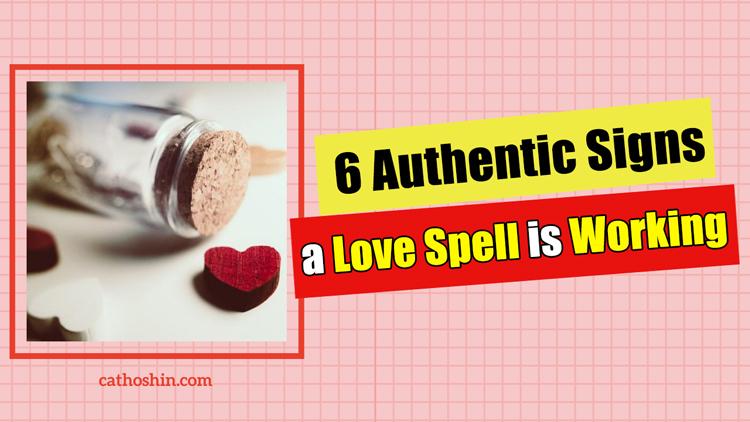 love spell manifestation signs