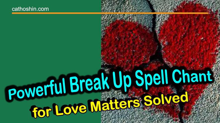 casting free break up spells
